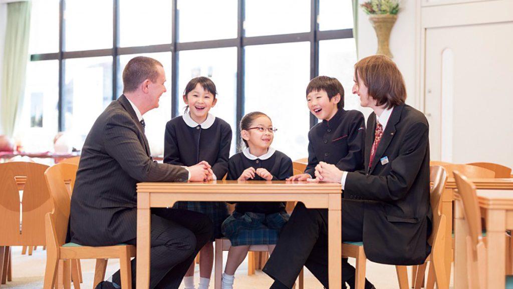 一日中英語に触れ世界のトップエリート育成 西武学園文理小学校