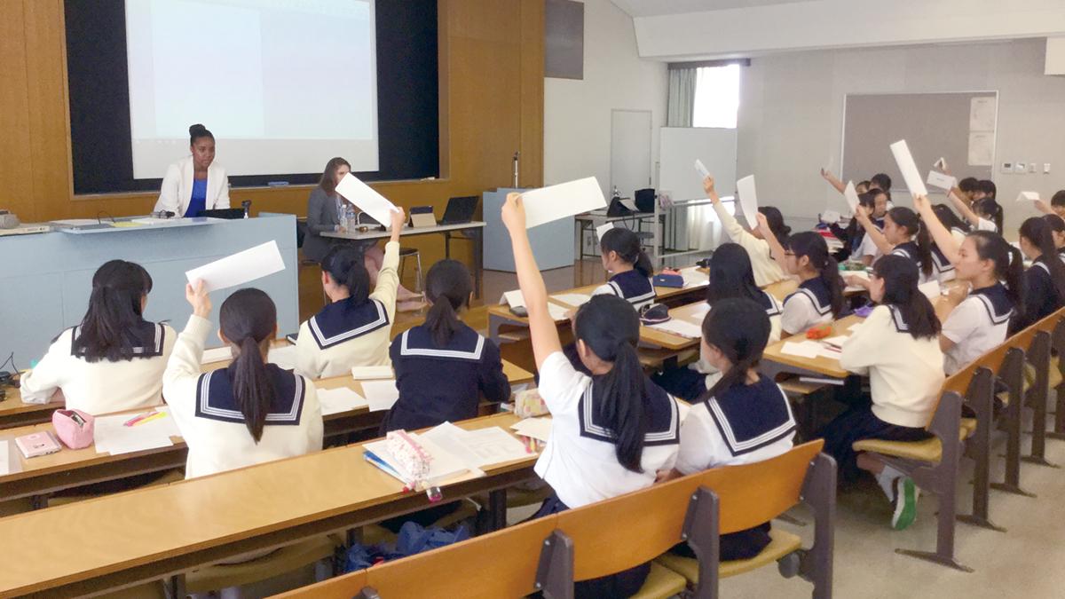 次世代の女性リーダーを育成 東京女学館小学校・中学校・高等学校