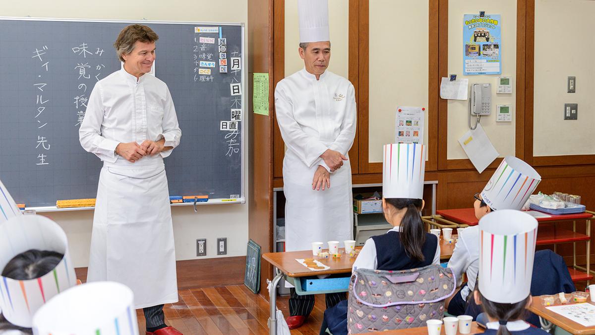 フランス発の味覚教育、日本の小学校でも人気