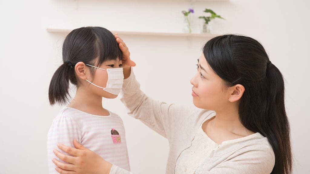 例年より早くインフルエンザが全国的な流行期に突入!