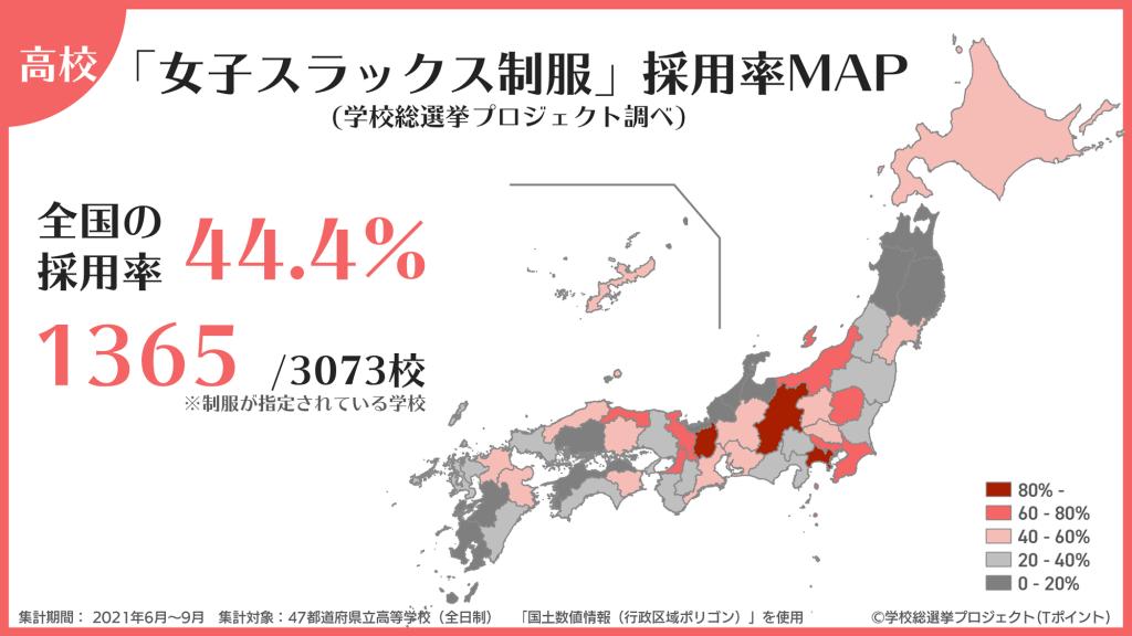 採用率map